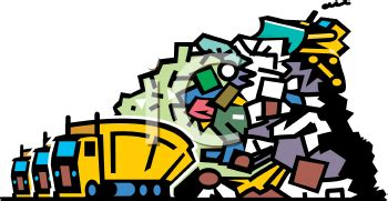 Garbage dumped on the road essay